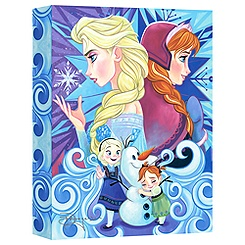 Frozen ''We Only Have Each Other'' Giclée on Canvas by Tim Rogerson