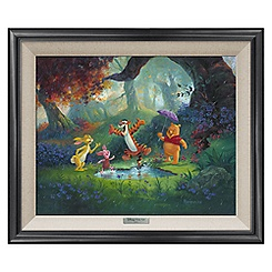 ''Puddle Jumping'' Giclee on Canvas by Michael Humphries - Limited Edition