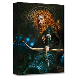 Merida ''Her Father's Daughter'' Giclée by Heather Theurer