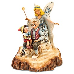 ''Wishing Upon a Star'' Pinocchio Figurine by Jim Shore