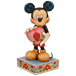 ''A Gift of Love'' Mickey Mouse Figurine by Jim Shore