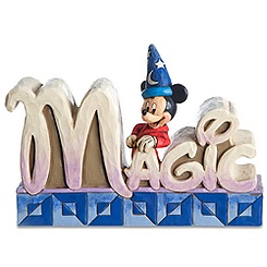 ''Magic'' Sorcerer Mickey Mouse Figurine by Jim Shore