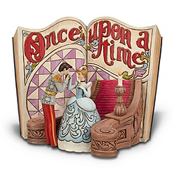 Cinderella Story Book Figurine by Jim Shore