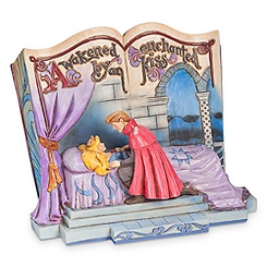 Sleeping Beauty ''Enchanted Kiss'' Storybook Figure by Jim Shore