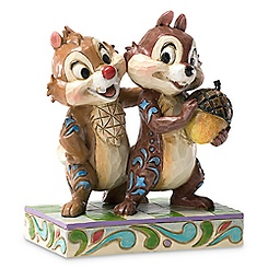 Chip 'n Dale ''Nutty Buddies'' Figure by Jim Shore