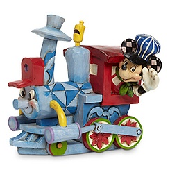 Mickey Mouse ''All Aboard the Birthday Train'' Figure by Jim Shore