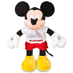 Mickey Mouse Plush - San Francisco Tee - 17''