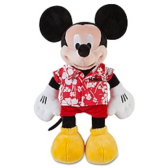 Mickey Mouse Plush - Hawaii - 12''