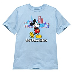 Mickey Mouse Tee for Boys - San Francisco