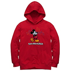 San Francisco Mickey Mouse Hoodie for Kids