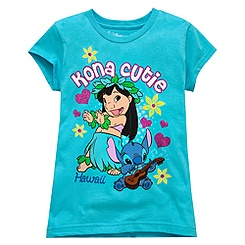 Lilo & Stitch Tee for Girls - Hawaii