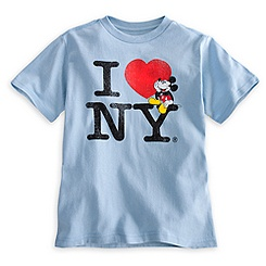 Mickey Mouse Tee for Boys - I ♥ NY