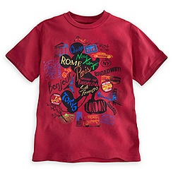 Mickey Mouse Around the World Tee for Kids