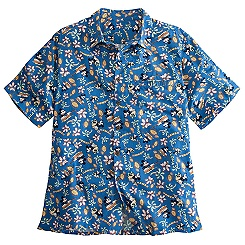 Minnie and Mickey Mouse Hawaiian Shirt for Men