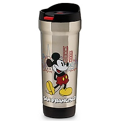 San Francisco Mickey Mouse Travel Mug