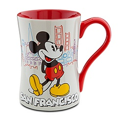 San Francisco Mickey Mouse Mug