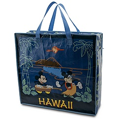 Minnie and Mickey Mouse Reusable Tote - Hawaii - Large