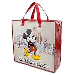 Mickey Mouse Reusable Tote - San Francisco - Large