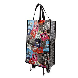 Mickey and Minnie Mouse Wheeled Reusable Bag