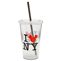 New York ''I Mickey NY'' Mickey Mouse Tumbler