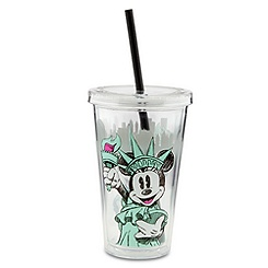 New York Lady Liberty Minnie Mouse Tumbler