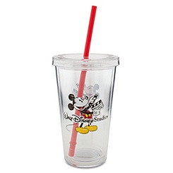 Walt Disney Studio Tumbler with Straw