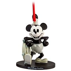 Walt Disney Studios Steamboat Willie Ornament