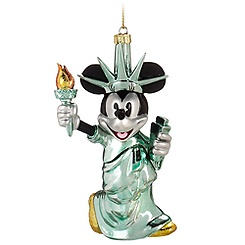 New York Minnie Mouse Ornament
