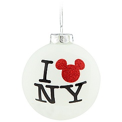 New York ''I Mickey NY'' Mickey Mouse Ornament