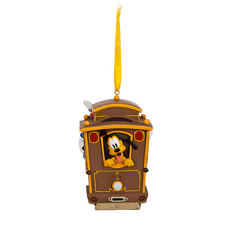 Disney San Francisco Cable Car Ornament