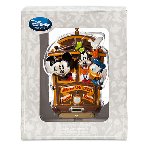 Disney ornament in silver box