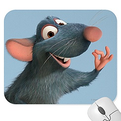 Ratatouille Mousepad - Create Your Own