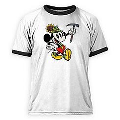 Mickey Mouse Yodelberg Ringer Tee for Men - Customizable