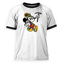 Mickey Mouse Yodelberg Ringer Tee for Men - Customizable