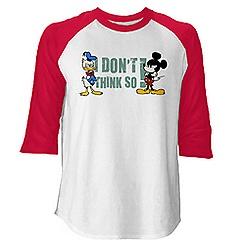 Mickey Mouse No Service Raglan Tee for Men - Customizable