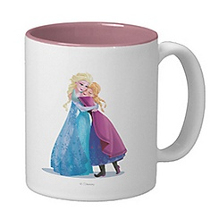 Anna and Elsa Mug - Frozen - Customizable