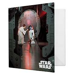 Princess Leia and R2-D2 Binder - Customizable