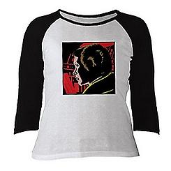 Princess Leia Raglan Tee for Women - Customizable