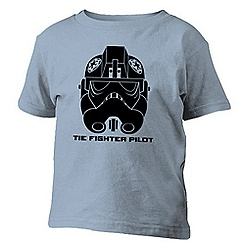 Star Wars Rebels Tie Fighter Pilot Tee for Boys - Customizable