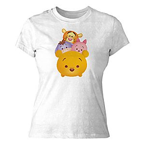 ''Tsum Tsum'' Winnie the Pooh and Pals Tee for Women