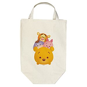 ''Tsum Tsum'' Winnie the Pooh and Pals Canvas Bag