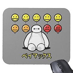 Big Hero 6 Baymax Emoticons Mousepad - Customizable