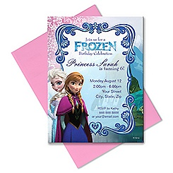 Frozen Invitation - Customizable