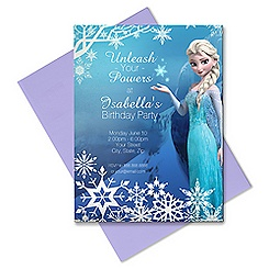 Elsa Invitation - Customizable