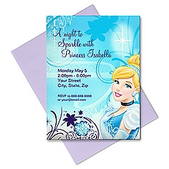 Cinderella Invitation - Customizable