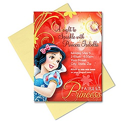 Snow White Invitation - Customizable