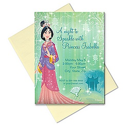 Mulan Invitation - Customizable