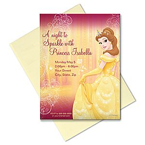 Belle Invitation - Create Your Own
