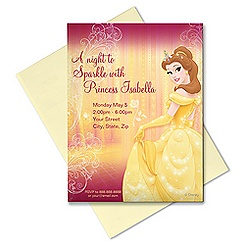 Belle Invitation - Customizable
