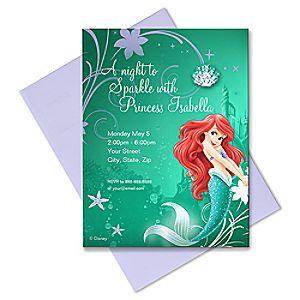 Ariel Invitation - Create Your Own